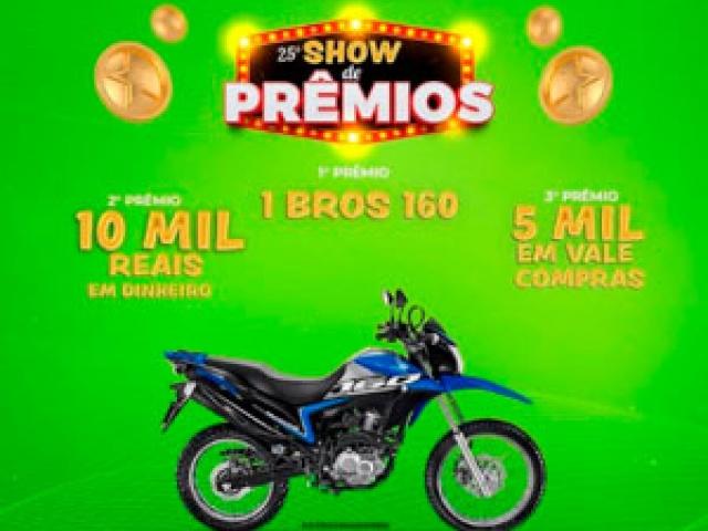 REGULAMENTO SHOW DE PRÊMIOS